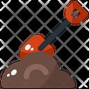 Shovel Tool Spring Icon