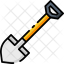 Shovel Gardening Equipment Spade Icon