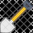 Shovel Gardening Equipment Spade Icon
