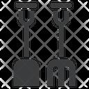Rake Farm Tools Icon