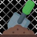 Shovel And Ground Icon