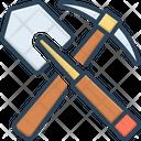 Shovel Entrenching Digging Icon