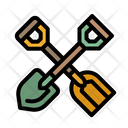 Shovel Construction Tools Icon