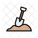 Shovel Gardening Agriculture Icon