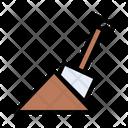 Construction Shovel Jack Icon