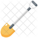 Shovel Construction Tool Icon