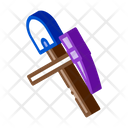 Shovel Pickaxe Mining Icon