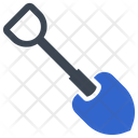 Agricultural Construction Digger Icon