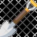 Shovel Digging Garden Tool Icon
