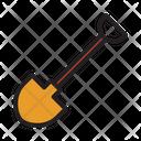 Construction Gardening Shovel Icon