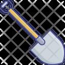 Spade For Gardening Spade Shovel Spade Tool Icon