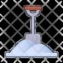 Shovel Snow Winter Icon