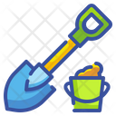 Shovel Tools Home Icon