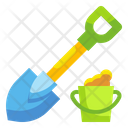 Shovel Tools Home Icon