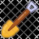 Spade Shovel Gardening Equipment Icon
