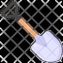 Digging Tool Spade Shovel Icon