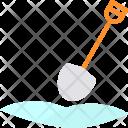 Shovel Snow Mud Icon