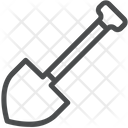 Spade Construction Tool Digging Tool Icon
