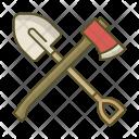 Shovel Axe Tool Icon