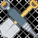 Shovel And Gimlet Shovel Spade Icon