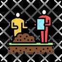 Shovel Worker Icon