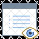 Show Property Webpage Icon