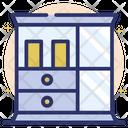 Showcase Glass Shelf Racks Icon