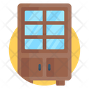 Crockery Unit Crockery Cabinet Furniture Icon