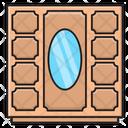 Showcase Mirror Drawer Icon
