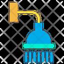 Bathing Shower Bathroom Shower Bathroom Equipment Icon