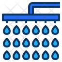 Shower Rain Bath Icon