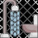 Shower Interior Furniture Icon