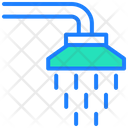Shower Water Service Facility Icon