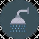 Shower Showering Washroom Icon