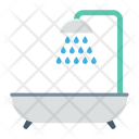 Shower Bathtub Bathroom Icon