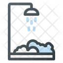 Shower Cabin Bathroom Icon