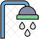 Summer Shower Bathroom Icon