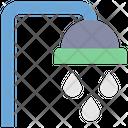 Summer Shower Bathroom Icon