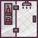 Bathroom Shower Shower Head Icon