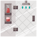 Bathroom Shower Shower Head Icon
