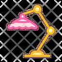 Beach Umbrella Color Icon