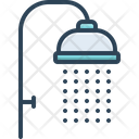 Shower Sprinkling Downpour Icon
