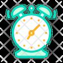 Alarm Clock Color Icon