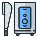 Shower Hot Cold Icon