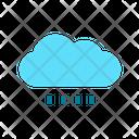 Shower Cloud Rain Rain Icon