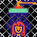 Shower Bath Water Icon