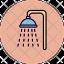 Shower Water Washroom Icon