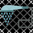 Shower Head Water Icon