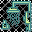 Shower Bathroom Water Icon