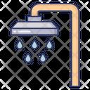 Shower Bathroom Hygiene Icon